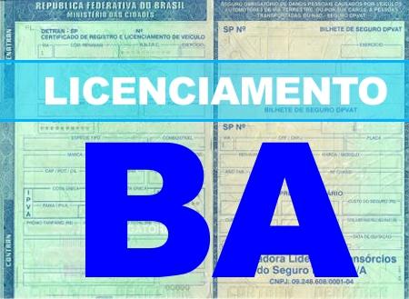 Licenciamento BA 2021